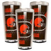 Cleveland Browns 3 pc Shot Glass Set