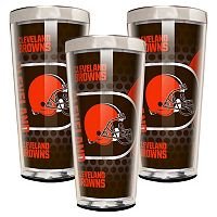 Cleveland Browns 3 pc Shot Glass Set