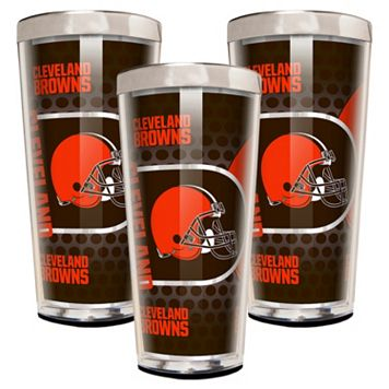 Cleveland Browns 3-Piece Shot Glass Set