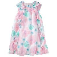 Toddler Girl OshKosh B'gosh® Chiffon Floral Pattern Dress