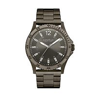Caravelle New York by Bulova Men's Crystal Stainless Steel Watch - 45A138