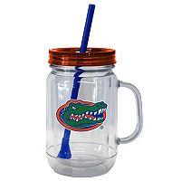 Boelter Brands Florida Gators 20-Ounce Plastic Mason Jar Tumbler