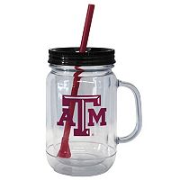 Boelter Brands Texas A&M Aggies 20-Ounce Plastic Mason Jar Tumbler
