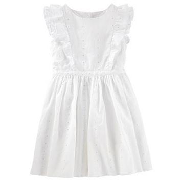 Toddler Girl OshKosh B'gosh® Eyelet Ruffle Dress