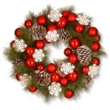National Tree Company 23-in. Artificial Pine & Snowflake Christmas Wreath