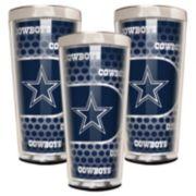 Dallas Cowboys 3-Piece Shot Glass Set