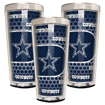 Dallas Cowboys 3-Piece Shot Glass Set