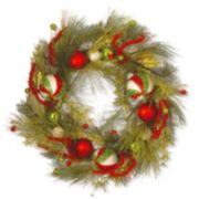 National Tree Company 30-in. Artificial Pine & Berry Christmas Wreath