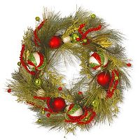 National Tree Company 30 in Artificial Pine & Berry Christmas Wreath