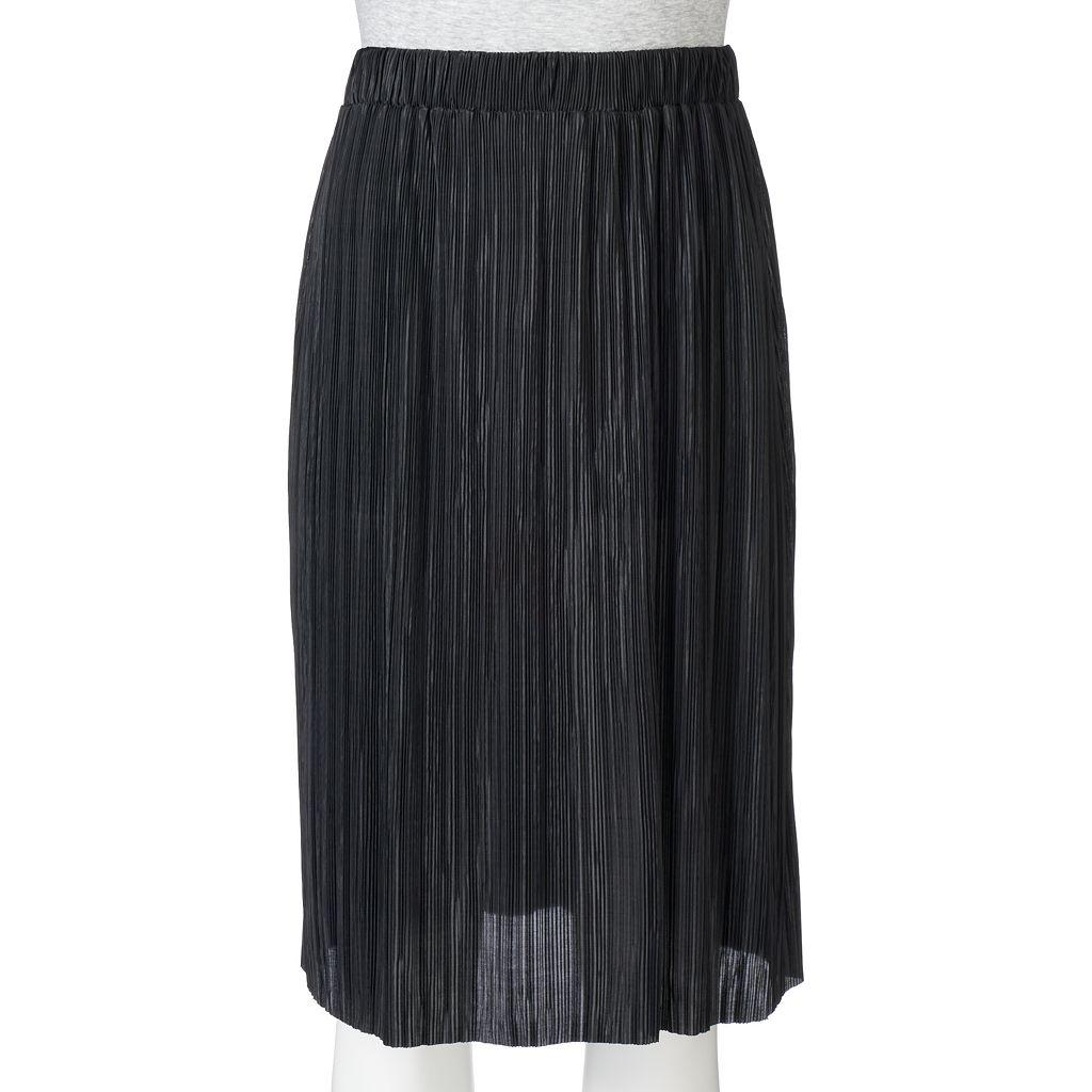 Juniors' Joe B Pleated Skirt