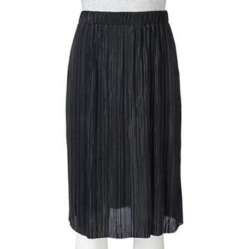 Juniors' Joe B Pleated Skirt