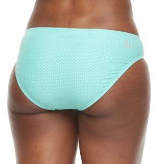 Women's RBX Mesh Shirred Bikini Bottoms