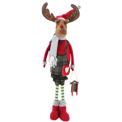 National Tree Company 36-in. Standing Moose Christmas Decor