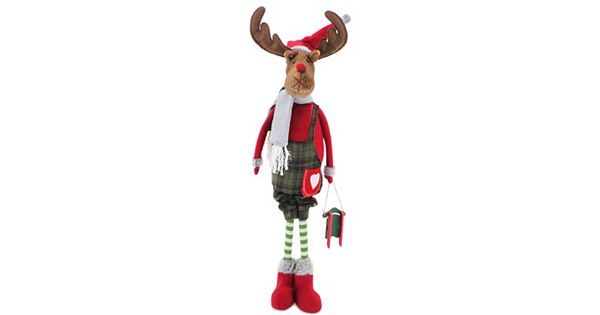 National Tree Company 36 In Standing Moose Christmas Decor
