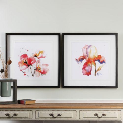 Blooms Hermanas Framed Wall Art 2-piece Set