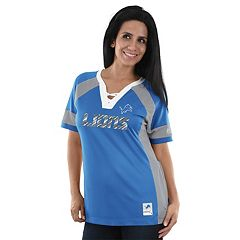 Women's Majestic Detroit Lions Draft Me Fashion Top