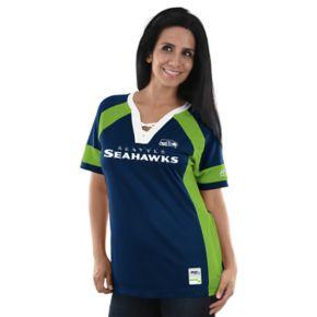 Women's Majestic Seattle Seahawks Draft Me Fashion Top