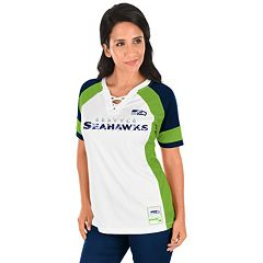 Women's Majestic Seattle Seahawks Draft Me Fashion Top
