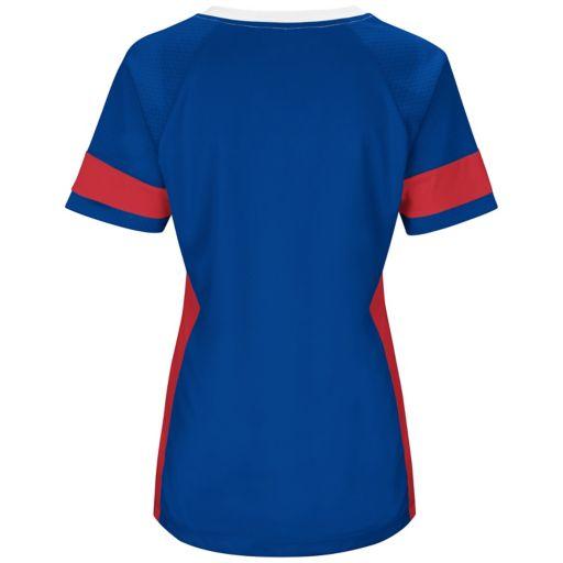 Women's Majestic New York Giants Draft Me Fashion Top