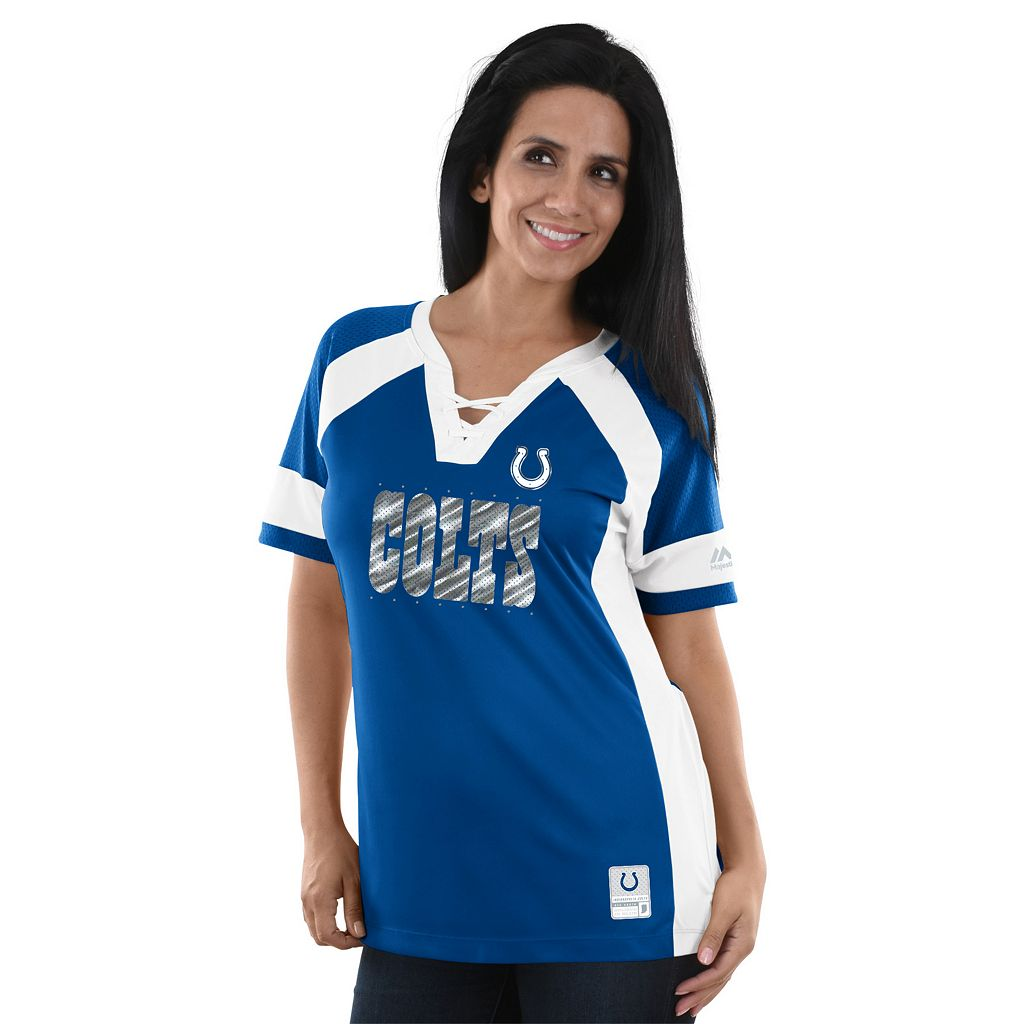 Women's Majestic Indianapolis Colts Draft Me Fashion Top