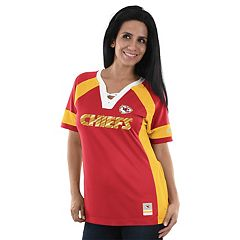 Women's Majestic Kansas City Chiefs Draft Me Fashion Top