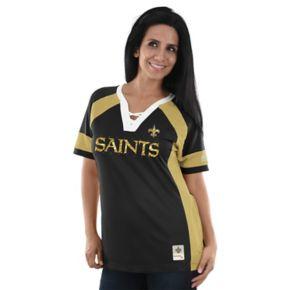 Women's Majestic New Orleans Saints Draft Me Fashion Top