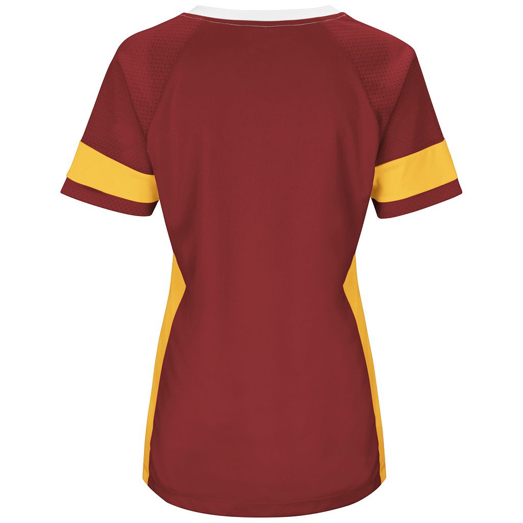 Women's Majestic Washington Redskins Draft Me Fashion Top