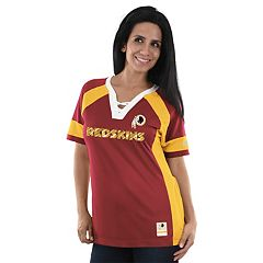 Women's Majestic Washington Redskins Draft Me Fashion Top