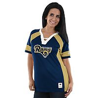 Women's Majestic Los Angeles Rams Draft Me Fashion Top