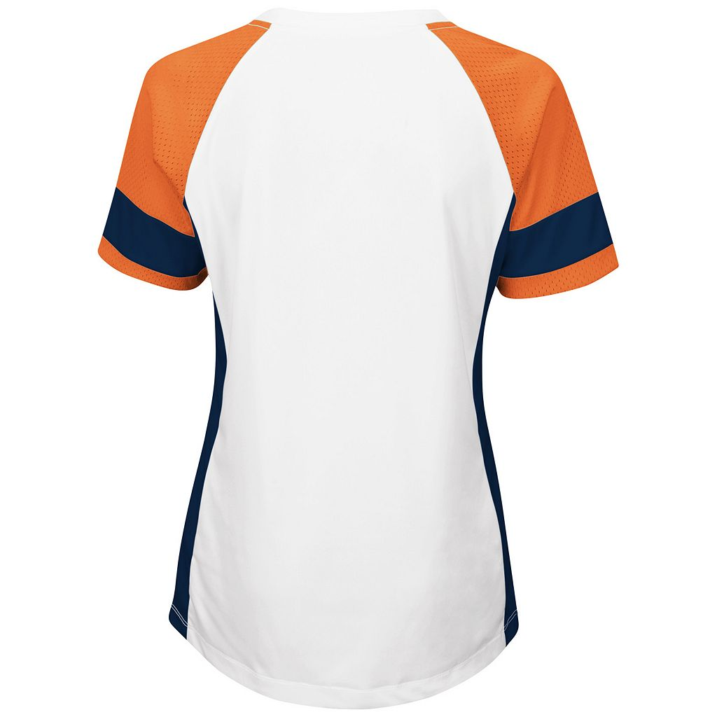 Women's Majestic Denver Broncos Draft Me Fashion Top