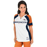Women's Majestic Denver Broncos Draft Me Fashion Top