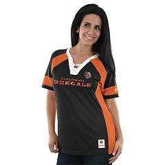 Women's Majestic Cincinnati Bengals Draft Me Fashion Top