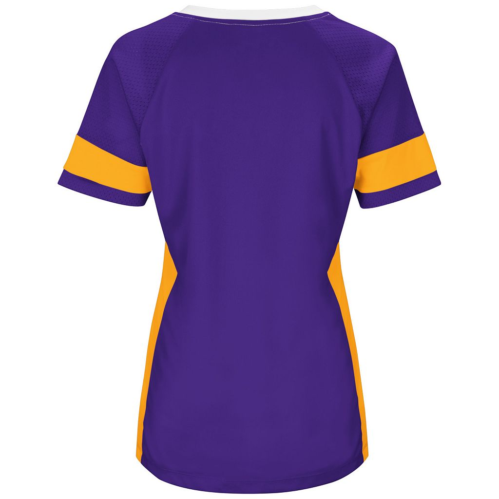 Women's Majestic Minnesota Vikings Draft Me Fashion Top