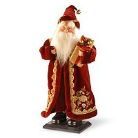 National Tree Company 18-in. Plush Collection Santa Decor