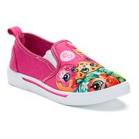 Shopkins Toddler Girls' Slip On Sneakers