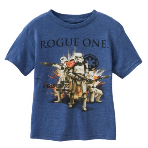 Boys 4-7 Star Wars Rogue One Storm Trooper Graphic Tee