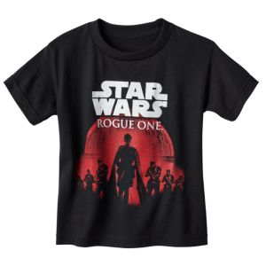 Boys 4-7 Star Wars: Rogue One Death Star March Tee