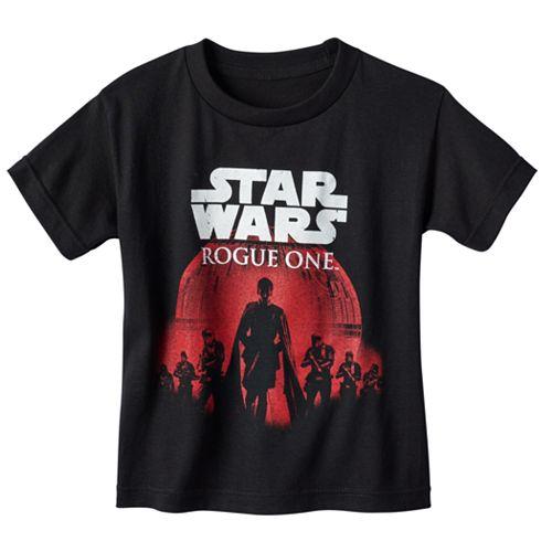 Boys 4-7 Star Wars: Rogue One Death Star March Tee
