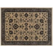 StyleHaven Faulkner Old World Inspired Framed Floral Wool Rug