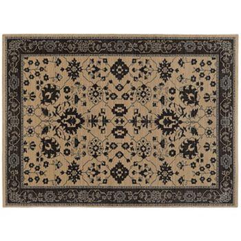 StyleHaven Faulkner Old World Inspired Framed Floral Wool Rug