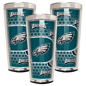 Philadelphia Eagles 3-Piece Shot Glass Set