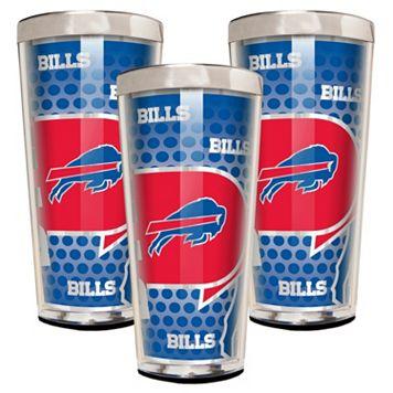 Buffalo Bills 3-Piece Shot Glass Set