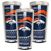 Denver Broncos 3 pc Shot Glass Set