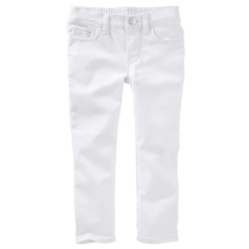 Toddler Girl OshKosh B'gosh® Pull-On White Jeggings