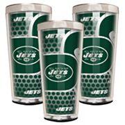 New York Jets 3 pc Shot Glass Set