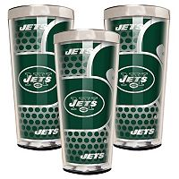 New York Jets 3-Piece Shot Glass Set