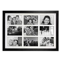 Malden Matted Black 9-Opening 4' x 6' Collage Frame