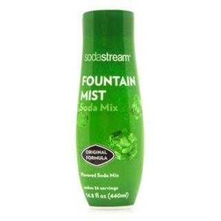 SodaStream Fountain Mist Soda Mix
