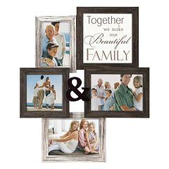 Malden Family Sentiment 4-Opening 4' x 6' Collage Frame