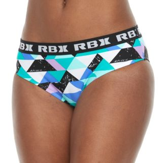 Women's RBX Geometric Scoop Bikini Bottoms
